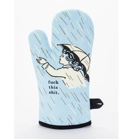 Blue Q F*ck This Shit Oven Mitt