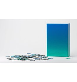Areaware Gradient Puzzle (blue/green)