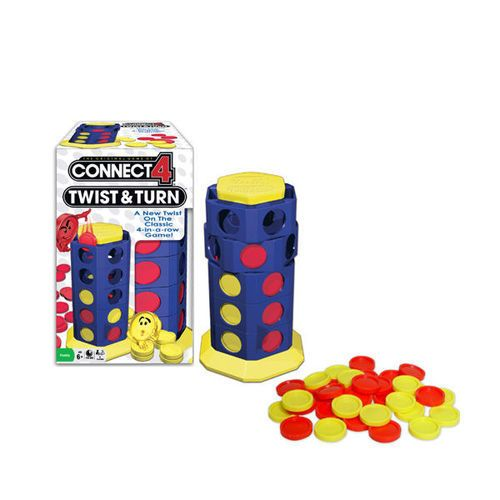Winning Moves Connect 4 Twist & Turn