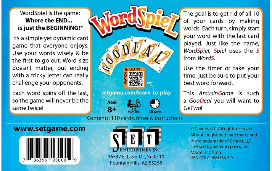 Set Enterprises Wordspiel
