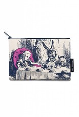 Out Of Print Alice in Wonderland Pouch