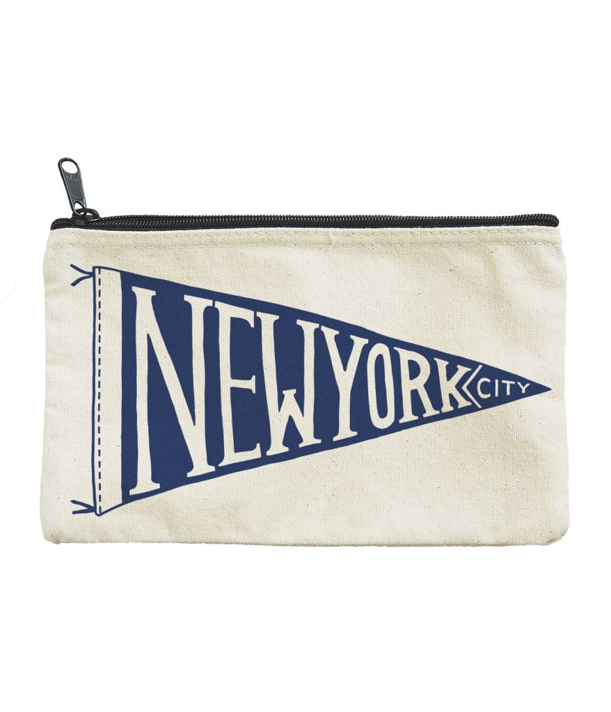 Seltzer NYC Pennant Pouch