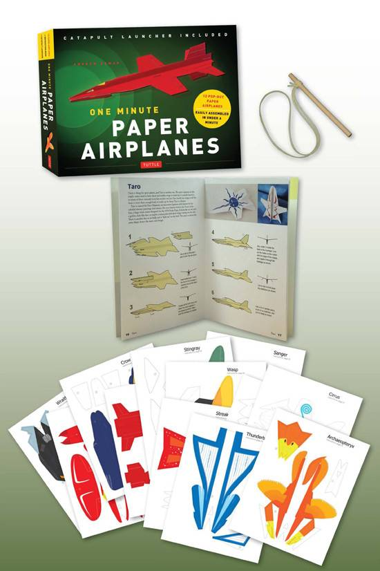 Simon and Schuster One Minute Paper Airplanes