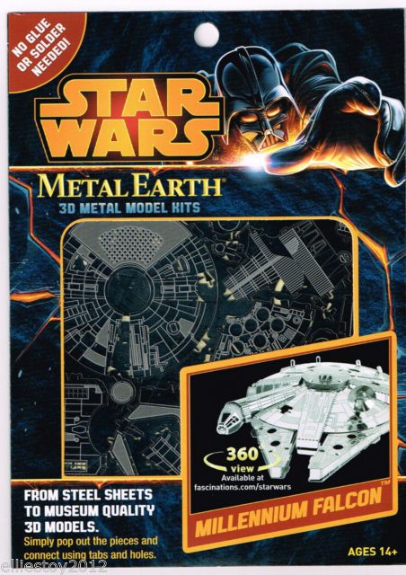 Fascinations Metal Earth Millennium Falcon