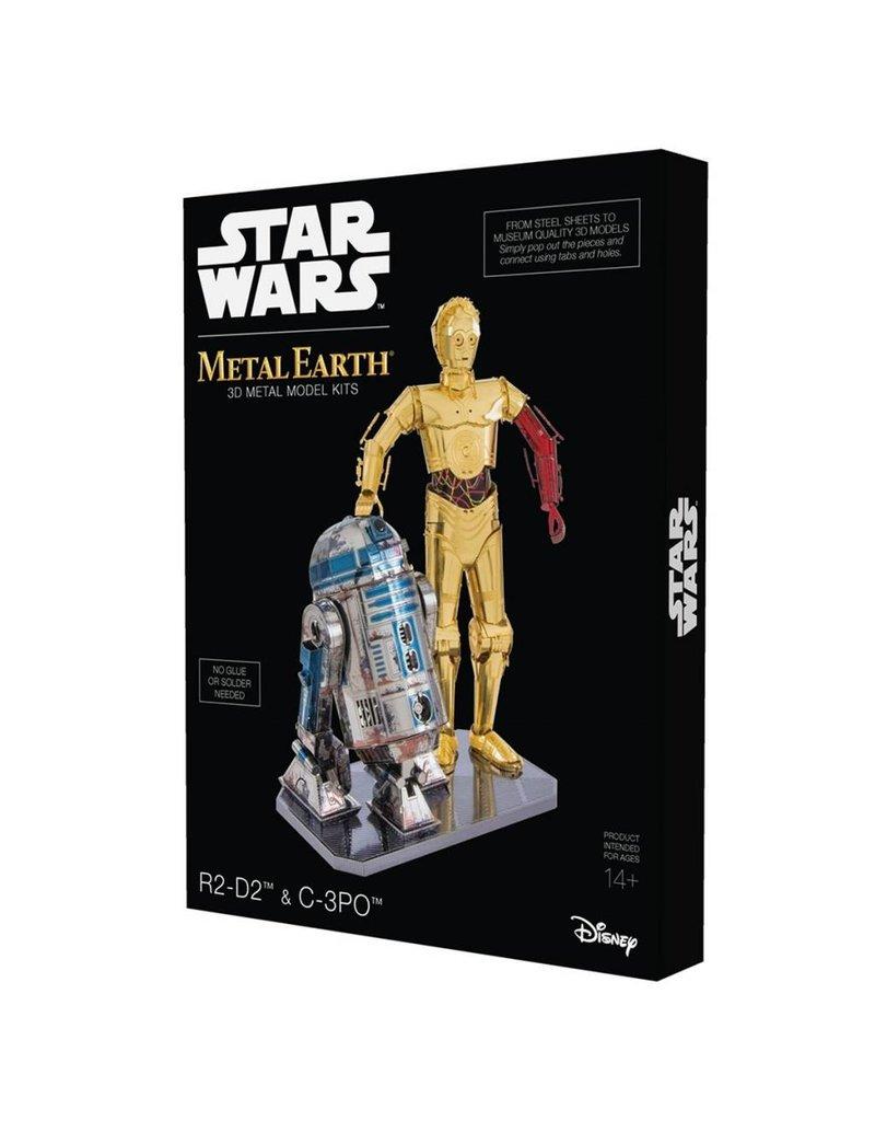 Fascinations Metal Earth R2D2 C-3PO Set