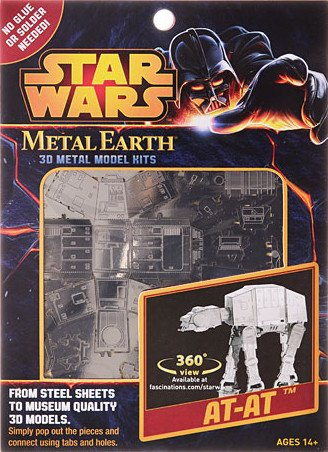 Fascinations Metal Earth AT-AT