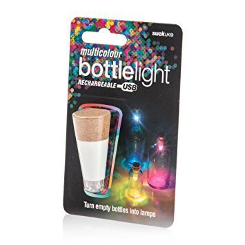 Suck UK Bottle Light Multi Colored