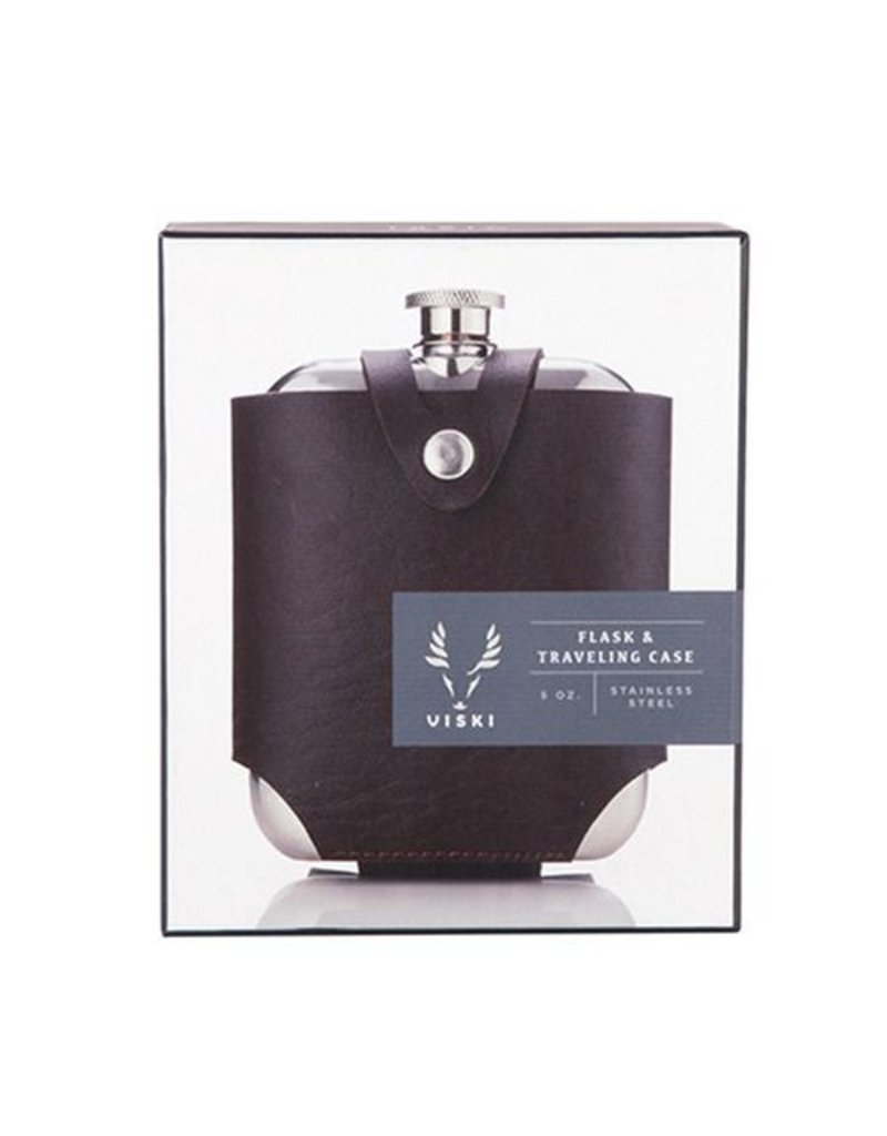 True Fabrications Admiral Flask & Traveling Case