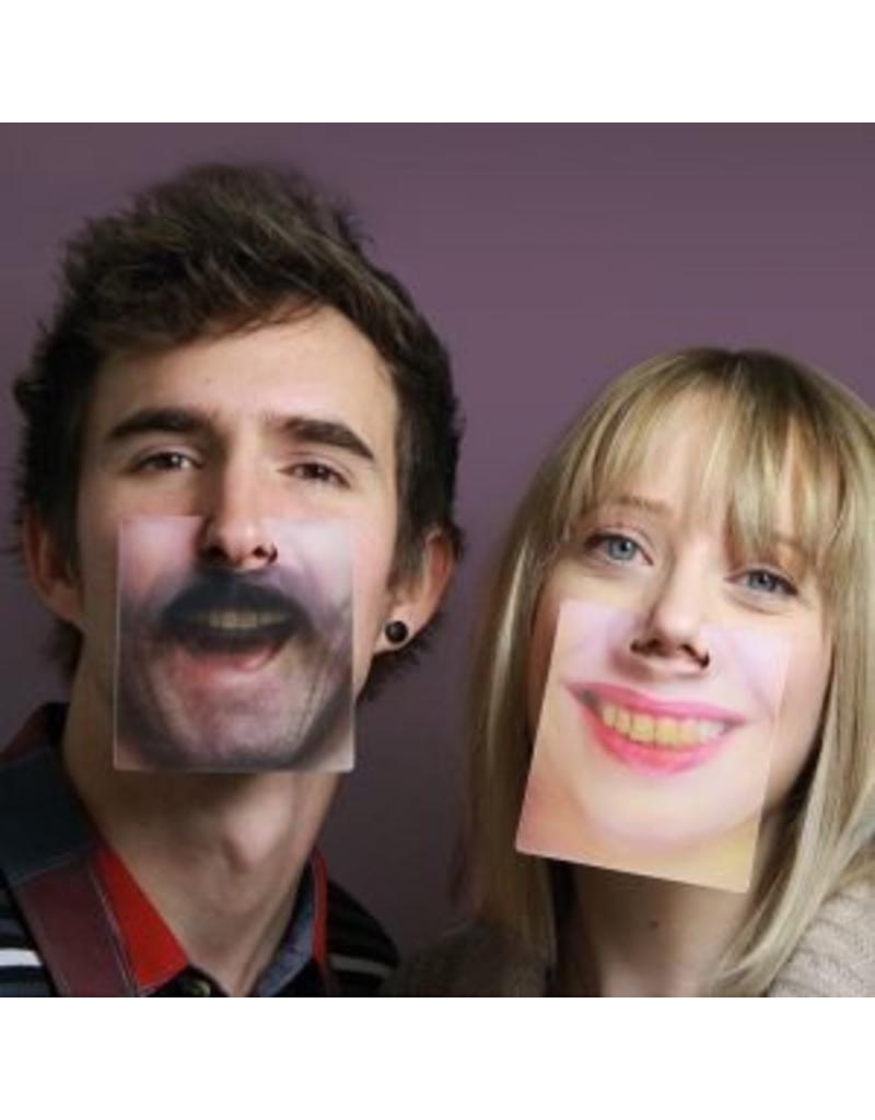 Paladone 3D Face Coasters