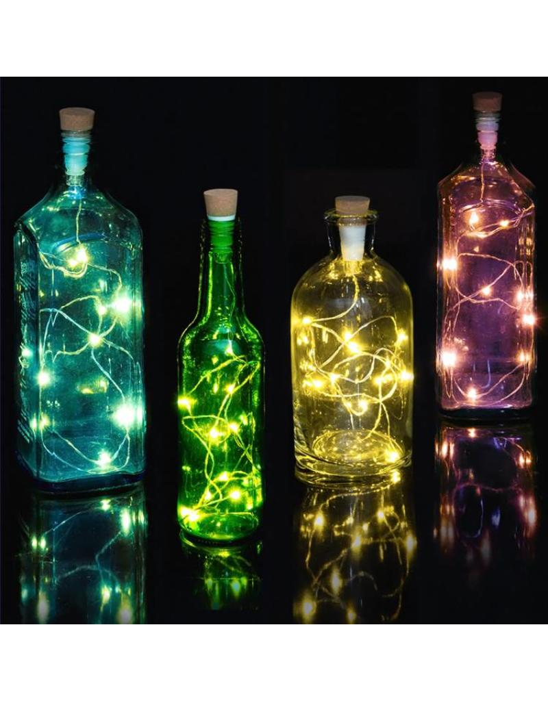 Suck UK Bottle Light with String