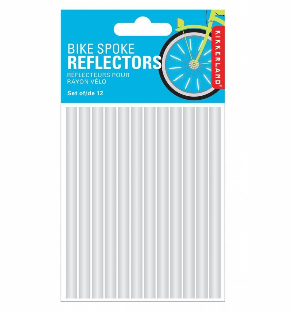 Kikkerland BIKE SPOKE REFLECTORS SET OF 12