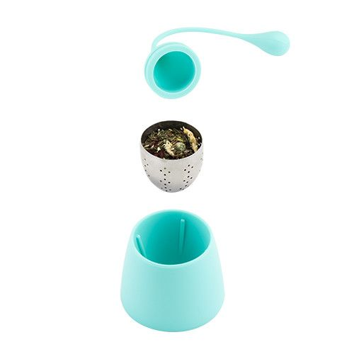 True Fabrications Weighted Tea Infuser Blue