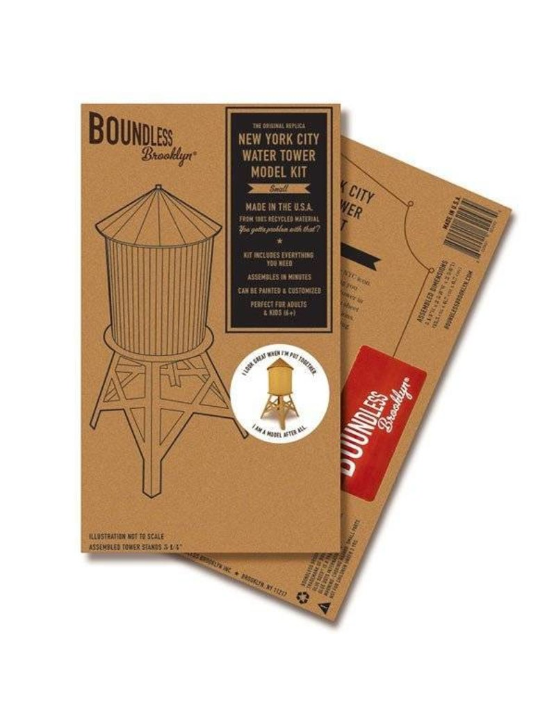 Boundless Brooklyn Water Tower Model Small