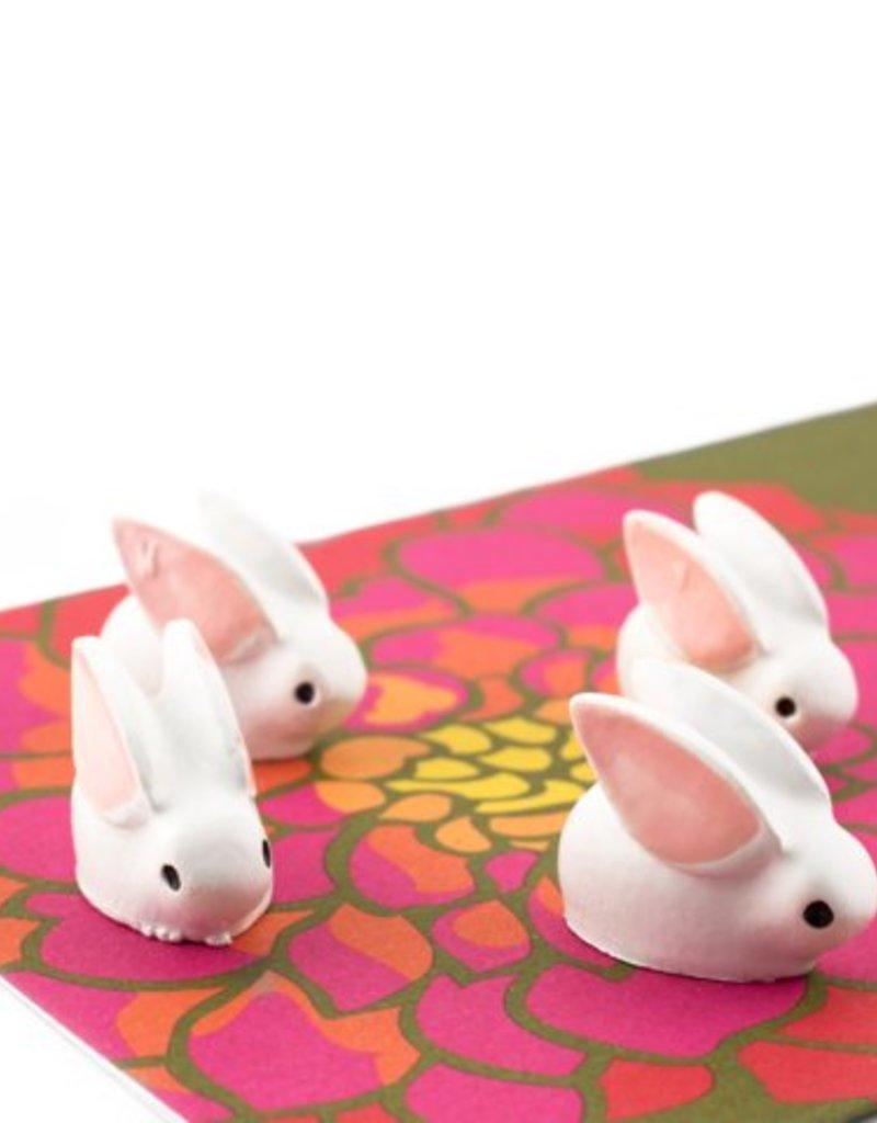 THREE BY THREE Bunny Magnet