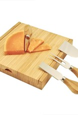True Fabrications Carve: Bamboo Cheese Board w/ Tools