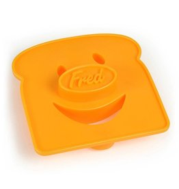 Fred & Friends Cheesy Grin Bread Stamp