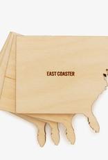 American Design Club East Coast coasters