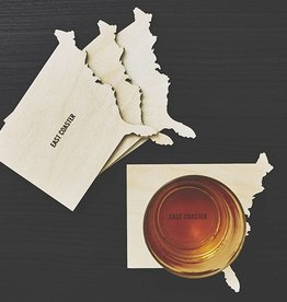 American Design Club East Coast coasters