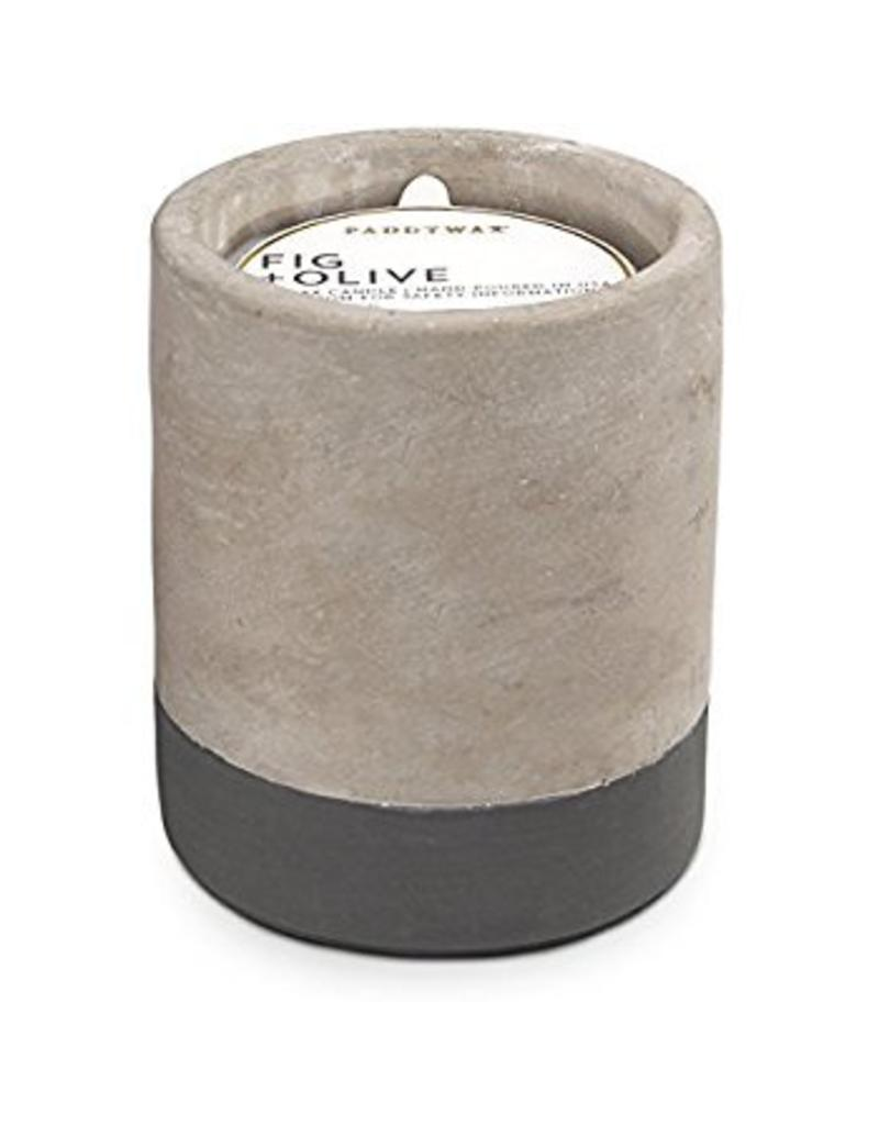 PADDYWAX Concrete Candle 12oz.