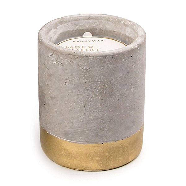 PADDYWAX Concrete Candle 3.5oz.