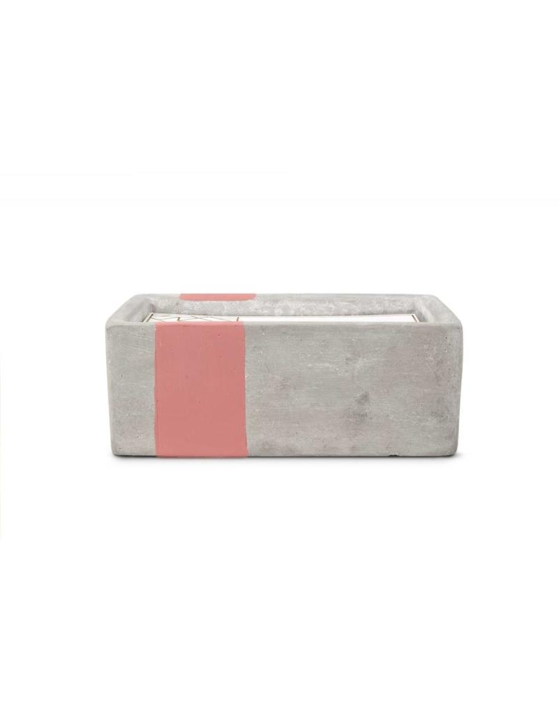 PADDYWAX Concrete Candle 8oz.