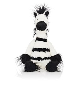 Jellycat Huge Barley Bear Cream Kids Toys Medium Bashful Puppy Stuffed Animal Black White