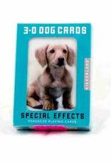 Kikkerland Dogs 3D Playing Cards