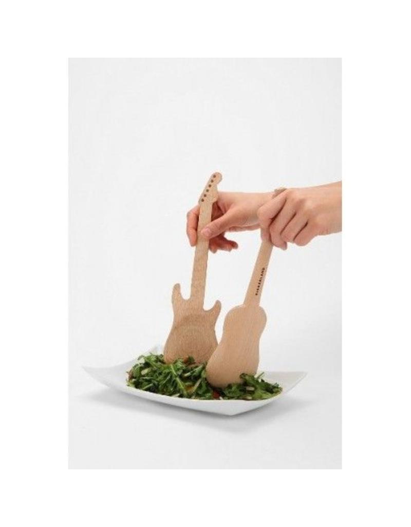 Kikkerland Guitar Salad Spoons