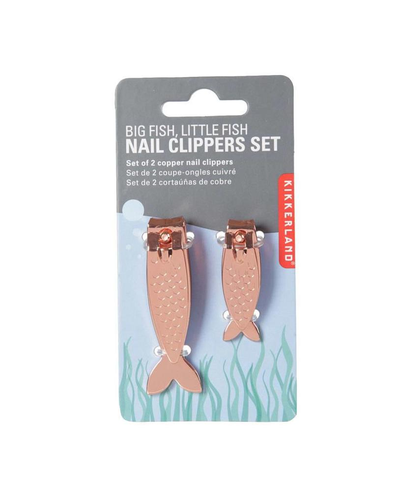 Kikkerland Fish Nail Clippers Copper