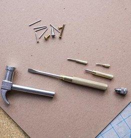 Kikkerland Handy Gold Hammer