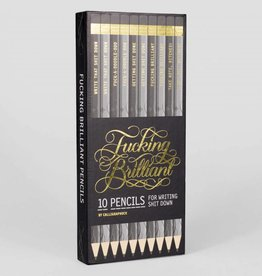 Chronicle Books Fucking Brilliant Pencils 10 pack