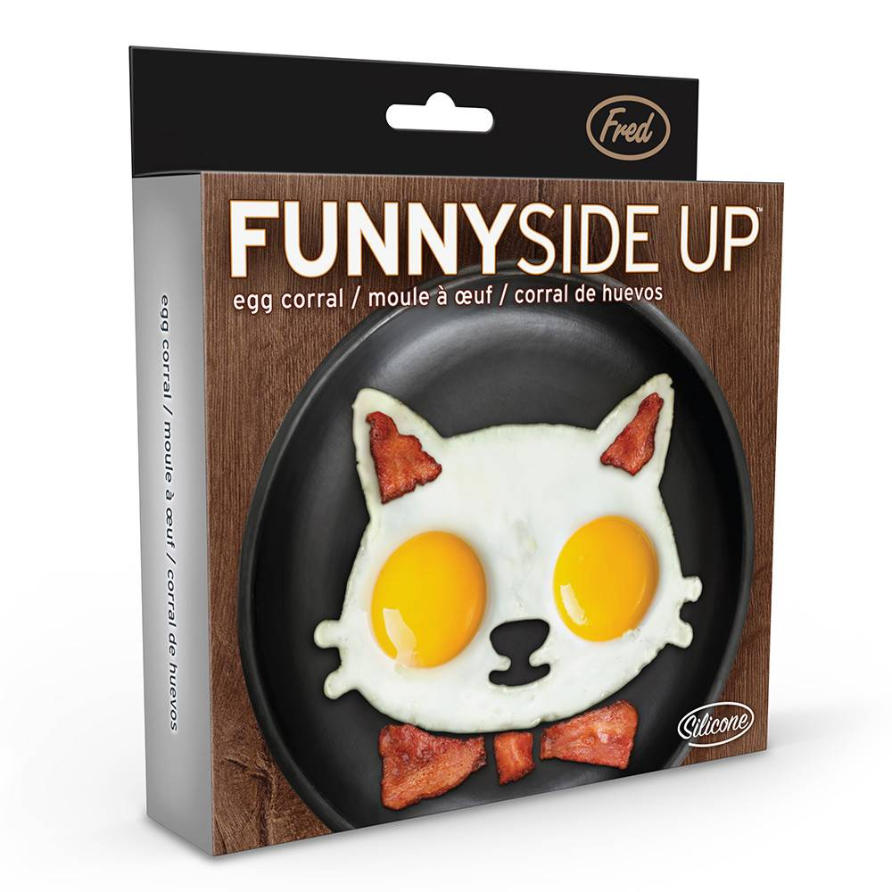 Fred & Friends Funnyside Up Cat