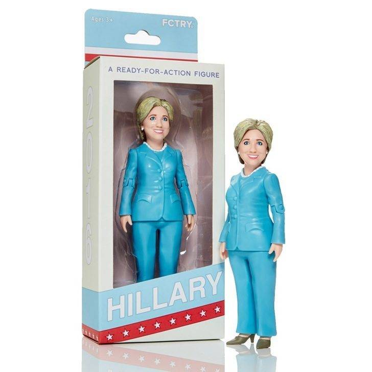 FCTRY Hillary Clinton Action Figure