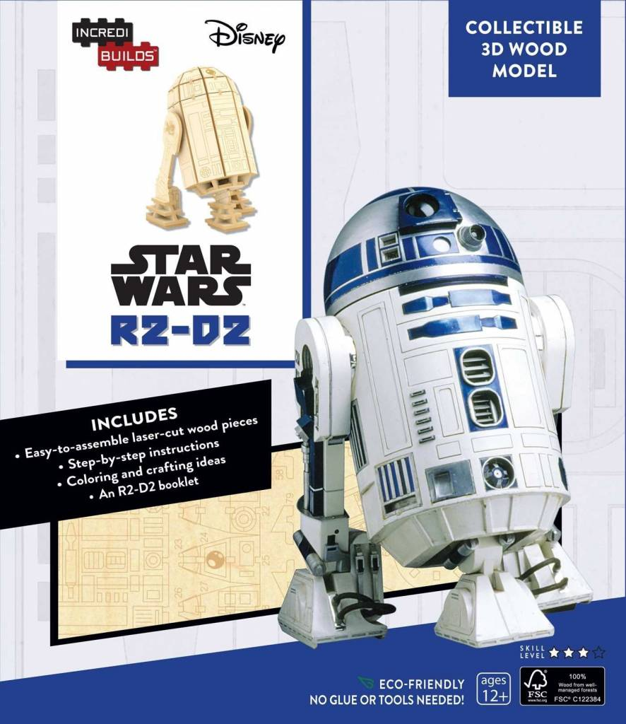 Simon and Schuster Star Wars Incredi Builds R2-D2