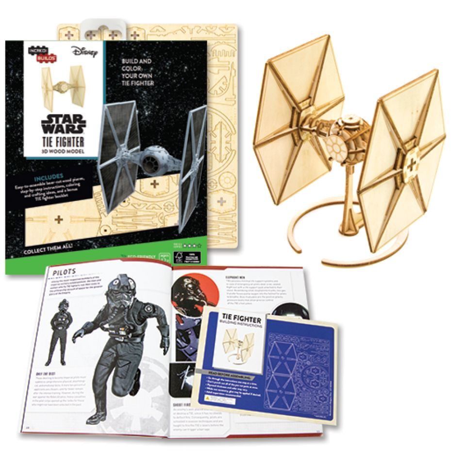 Simon and Schuster Star Wars Incredi Builds Tie Fighter