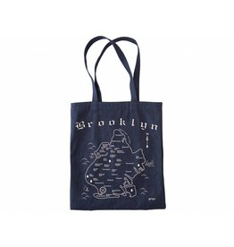Map Tote Brooklyn Denim
