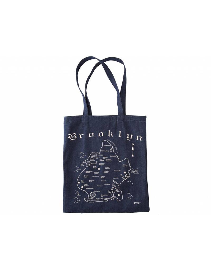 Map Tote Brooklyn Denim