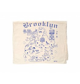 Map Tote Brooklyn Tea Towel