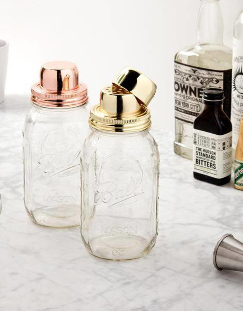 W & P Designs Mason Shaker Copper