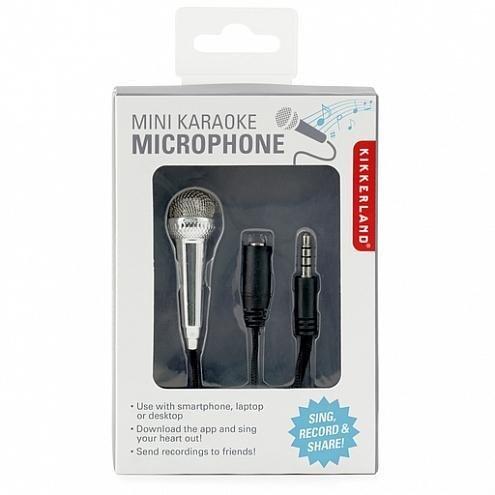 Kikkerland Mini Karaoke Microphone