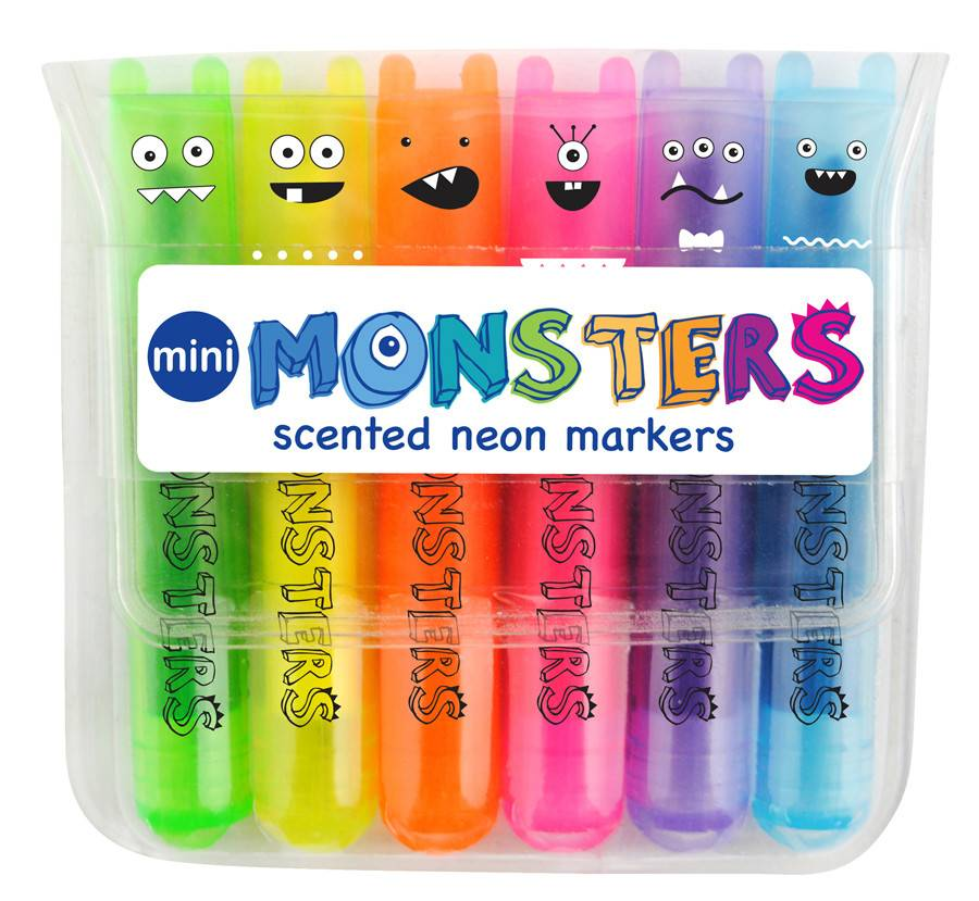 OOLY Mini Monster Scented Markers