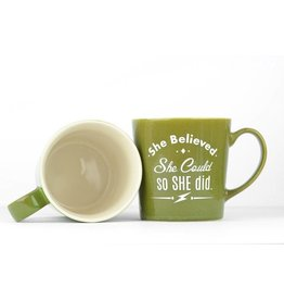 Mug - She Believed She could