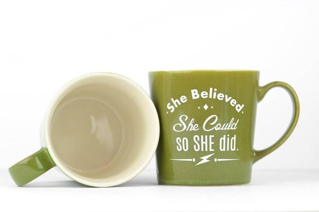 Mug - She Believed She could