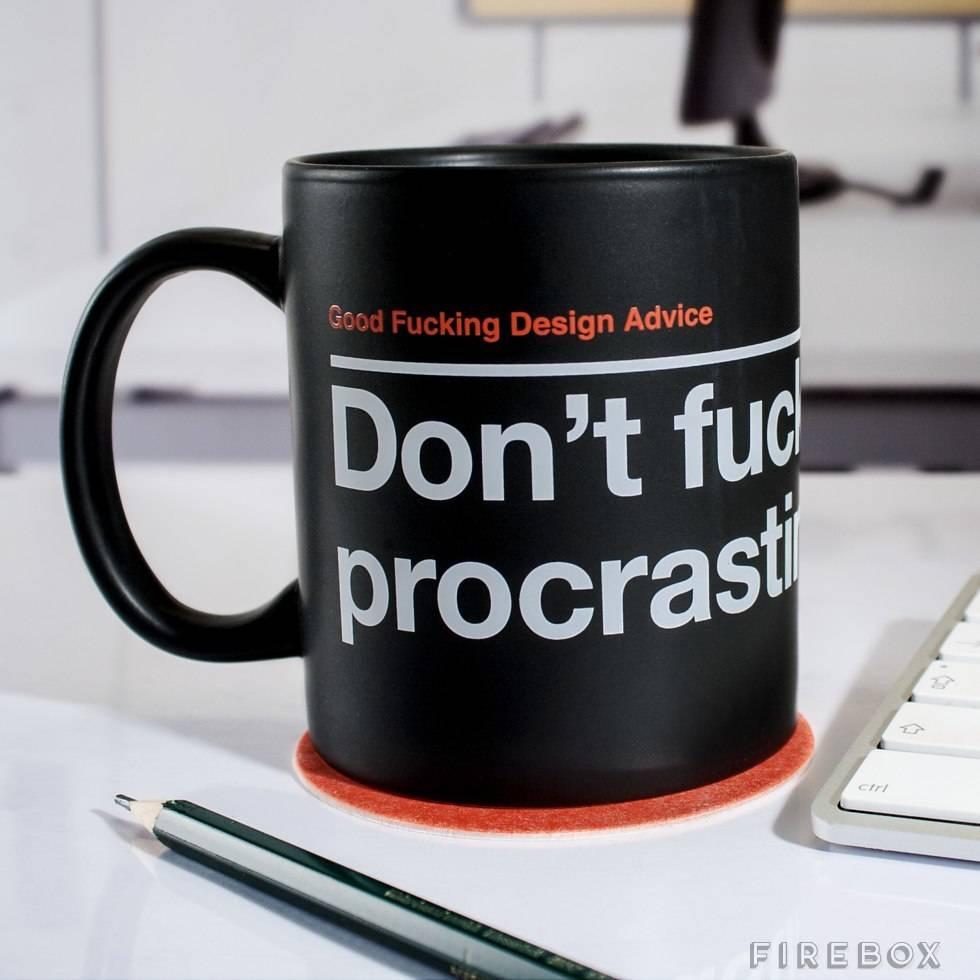Mug Don't Procrastinate
