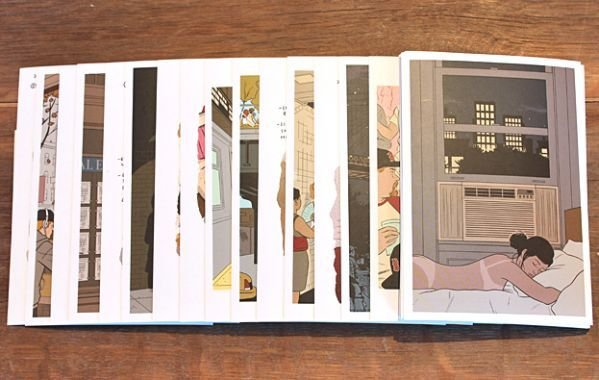 MPS Adrian Tomine's New York Postcards