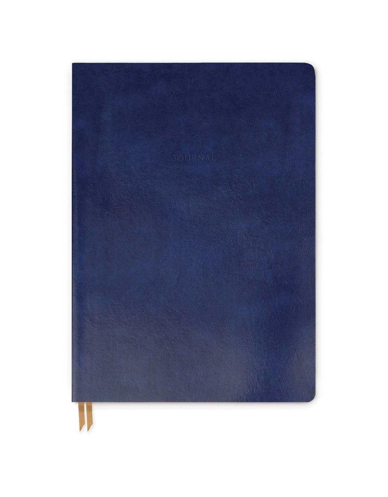 Bonded Leather Journal Indigo