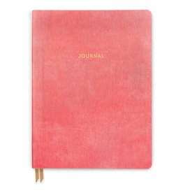 Bonded Leather Journal Flamingo