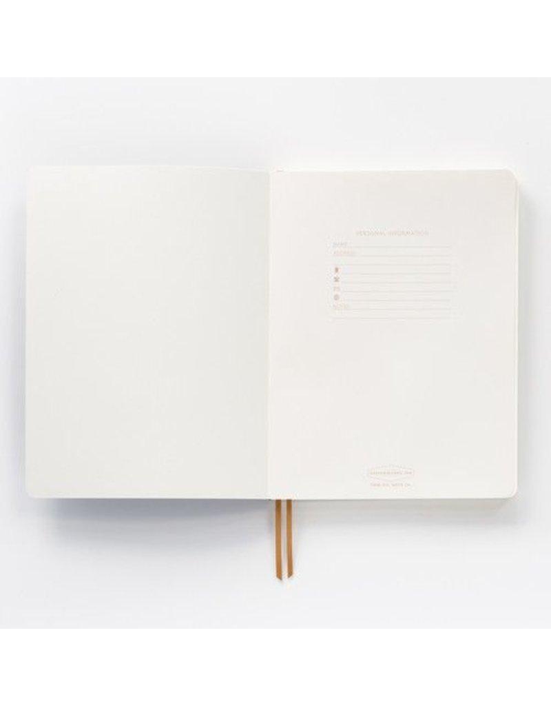 Bonded Leather Journal Flamingo