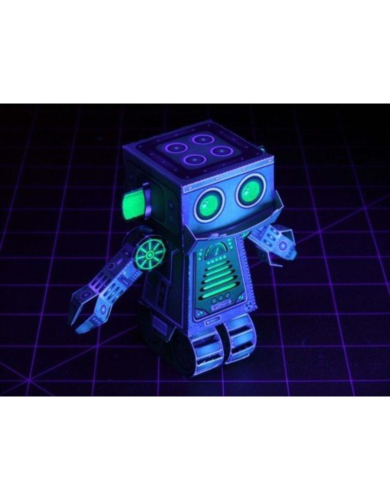 Workman Publishing Paper Toy Glowbots