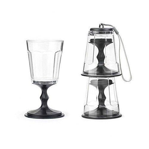 Kikkerland Portable Wine Glass